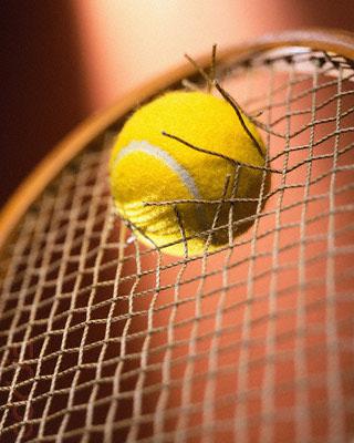 Tennis Racket Broken by Tennis Ball